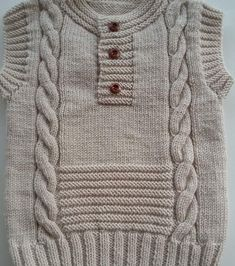 No automatic alternative text. Baby Boy Knitting Patterns Free, Baby Sweater Patterns, Baby Sweater Knitting Pattern, Baby Cardigan Knitting Pattern, Knit Baby Sweaters, Knitting For Kids, Baby Boy Sweater, Crochet Baby Clothes, Knitting Designs