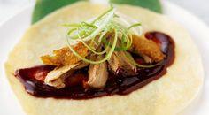 Crispy+Peking+Duck+With+Pancakes
