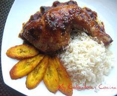 Pollo con Panela Colombia, cocina, receta, recipe, colombian, comida. Colombian Chicken Recipe, My Colombian Recipes, Colombian Cuisine, Latin American Food, Latin Food, Fun Easy Recipes, Easy Meals, Columbia Food, Hispanic Dishes
