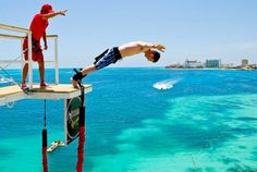 Are you ready? Bungee in Cancún