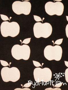 Velour printti - Candy Apple Dark Choco ja muut värit