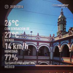 Ayer #frío hoy #calor en #Veracruz este #clima esta loco http://www.veracruzviajes.com.mx #Mexico
