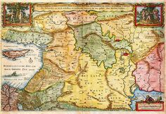 1657 Visscher Map of the Holy Land or the Earthly Paradise Geographicus Gelengentheyt visscher 1657