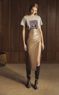 Get inspired and discover Zeynep Arçay trunkshow! Shop the latest Zeynep Arçay collection at Moda Operandi. Look Fashion, High Fashion, Autumn Fashion, Womens Fashion, Fashion Design, Mode Outfits, Fashion Outfits, Fashion Trends, Skirt Fashion
