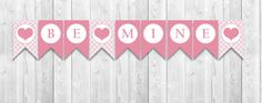 INSTANT DOWNLOAD  Valentine's Be Mine by YourPrintableShop on Etsy