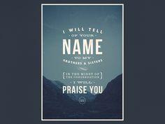 Psalm 22:22 by Jonathan Ogden