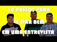 10 PASSOS PARA SE DAR BEM EM UMA ENTREVISTA DE EMPREGO