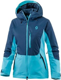#SCOTT #Ultimate #Dryo #Plus #Skijacke #Damen #türkis/dunkelblau