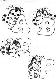 Alfabeto de joaninha