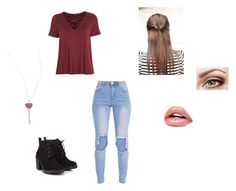 """""""First Daye"""" by fallenlydia on Polyvore featuring Topshop, Red Herring and Effy Jewelry"""