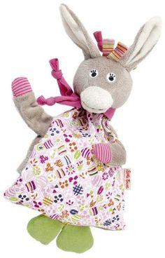 Kathe Kruse Donkey Rosina Cherrystone Pillow