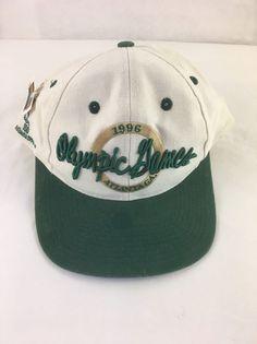New 1996 Olympic Games Atlanta GA Baseball Cap Hat Adjustable Snapback #TheGame