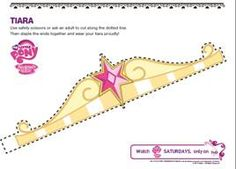 Free My Little Pony Activity Sheets: Make Your Own Princess Twilight Sparkle Tiara