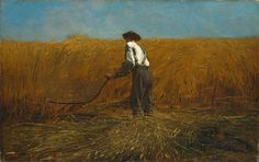 The Veteran in a New Field Winslow Homer (American, Boston, Massachusetts 1836–1910 Prouts Neck, Maine) 1865.