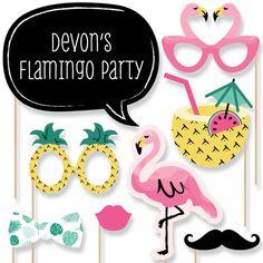 Fotomatón Flamingo apoyos vamos a foto por BigDotOfHappiness