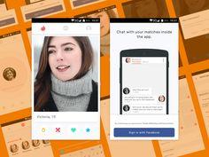 Tinder Android App UI Kit