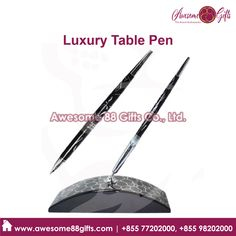 Luxury Metal Pen manufactures in Phnom Penh Cambodia - Metal Pen, Phnom Penh, Cambodia, Printing, Luxury, Table, Gifts, Presents, Tables
