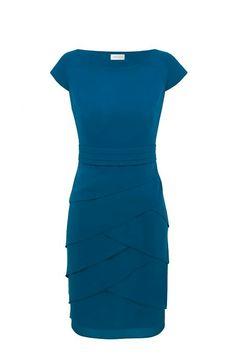 Product - Minuet Teal Layered Dress