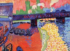 In pictures: Andre Derain: The London Paintings - Telegraph. A French Fauvist in London...simply fantastic...