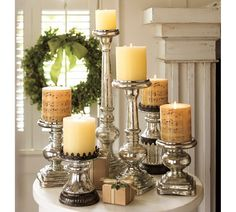 Candles for all occasions but are especially lovely at Christmas...try mixing fragrances of the candles for a delicious blended Aurora....try vanilla, and cinnamon and orange fusion.