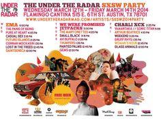Under the Radar Day Party #sxsw #sxsw2014