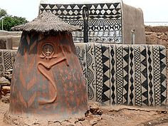 Map Of Africa - - - Africa Wallpaper Wallpapers Africa Map, West Africa, Vernacular Architecture, Art And Architecture, African Tribal Patterns, Africa Tattoos, African House, Afrique Art, House Painter