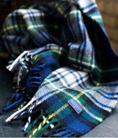 Blue Stewart Tartan Throw see source Tartan Throws, Blue Throws, Tartan Plaid, Plaid Flannel, Plaid Scarf, Blue Plaid, Caravan, Stewart Tartan, Scottish Clans