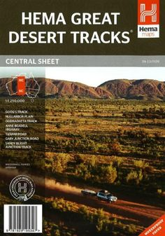 Hemas Great Desert Tracks maps are essential for anyone travelling in the Australian Outback. The mapping features roads and tracks field-checked by the.