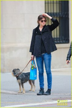 dakota johnson fifty shades of grey gross over 400 million overseas 08 Dakota Johnson keeps it casual in jeans while enjoying a stroll with her pet pooch on Tuesday (April 7) in New York City's West Village.    The 25-year-old actress…