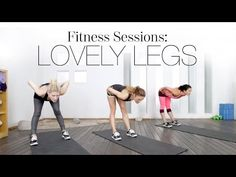 Fitness sessions: Lovely Legs | The Beauty Effect