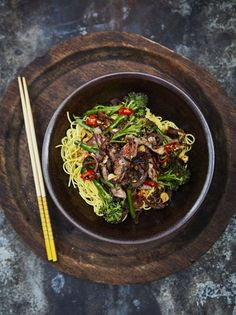 Beef and Broccoli Stir Fry | Beef Recipes | Jamie Oliver Recipes