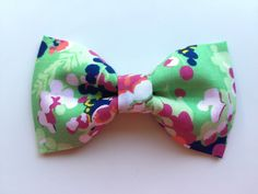 Custom Multi Color Bowtie for Cats or Dogs  by WhiskersCrafts