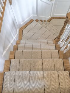 We are the carpet and rug experts in Boston. We will custom fabricate stair runners, area rugs and hall runners to fit your home perfectly. Carpet Staircase, Staircase Runner, Stair Runners, Foyer Design, Staircase Design, House Design, Staircase Makeover, Stairs Revamp, Carpet Sale