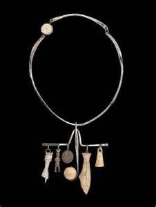 Ramona Solberg, Shaman's Necklace, 1968 Sterling Silver, Alaskan ...