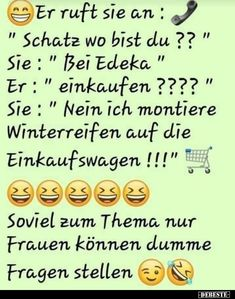 """He calls her: """"Honey where are you? - He calls her: """"Honey where are you? Informations About Er ruft sie an: """"Schatz wo bist du Pin You - Madea Funny Quotes, Funny Friday Memes, Memes Funny Faces, Funny Animal Quotes, Cute Funny Quotes, Friday Humor, Jokes Quotes, Funny Texts, Epic Texts"""