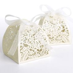 Wedding Sweets Lace Laser Rose Cut Wedding Favor Candy Gifts Boxes 25PCS(China (Mainland))