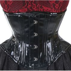 927bb3ac769 Women Vinyl Steel Boned Corset Waist Cinchers