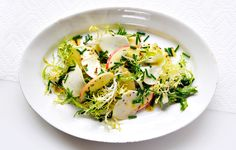 Kohlrabi and Apple Salad with Caraway - Bon Appétit