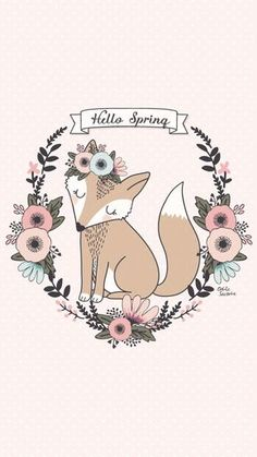 "[FREEBIES] Fonds d'écran ""Hello Spring"" pour accueillir le printemps"