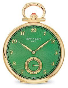 Patek Philippe | Oficios artesanales Ref. 992/132J-001 Oro amarillo Patek Philippe Pocket Watch, Accessories, Craft, Desk Clock, Pocket Watch, Yellow, Pockets, Gold, Creative Crafts