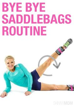 Say goodbye to those saddlebags and hello sexy legs with this workout routine!