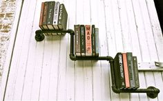 Pipe Shelf 1up Pair by stellableudesigns on Etsy, $135.00