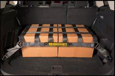 Bednet® Original Mini Cargo Net in x Truck Bed Net, Cargo Net, Back Seat, Steel, The Originals, Bags, Hooks, Design, Minis