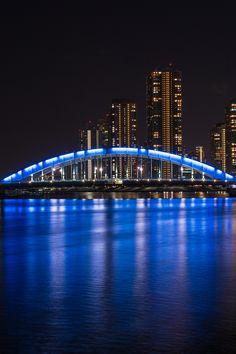 https://flic.kr/p/qT8Bhn | Eitai Bridge, Tokyo