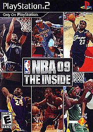 NEW Sealed NBA 09 The Inside for PS2 Play Station
