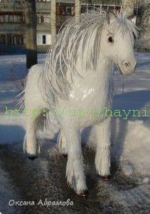лошадь из пластиковых бутылок своими руками пошаговая инструкция - фото 6