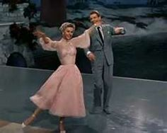 """One of my favorite Christmas movies! Danny Kaye and Vera Ellen dancing in the movie """"White Christmas."""" This is my favorite Christmas Movie! """"The best things happen while you're dancing. White Christmas Movie, Christmas Dance, Pink Christmas, Christmas Movies, Holiday Movies, Vera Ellen, Old Movies, Great Movies, Classic Hollywood"""