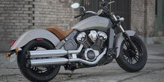 2016 Indian Scout Motorcycle - Wildfire Red : Features