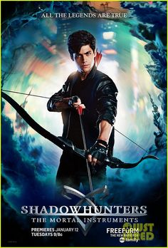Shadowhunters T. Series Cast List-Cassandra Clare-The Mortal Instruments-paranormal-book to series-awesome-Freeform-Katherine McNamara-Dominic Sherwood Alec Lightwood, Jace Wayland, Isabelle Lightwood, Matthew Daddario, Shadowhunters Poster, Shadowhunters The Mortal Instruments, Shadow Hunters Tv Show, Clary Y Jace, Pays Francophone
