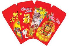 Children will receive lucky money from adult during Lunar New Year.